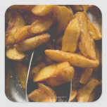 Potato wedges with salt (detail) stickers