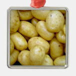 Potatoe de Delaware Ornamento De Navidad