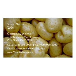 Potatoe de Delaware Tarjetas De Visita