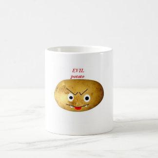 potatoe malvado taza de café