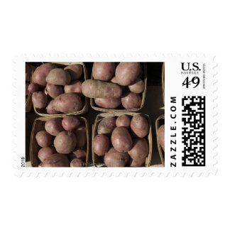 Potatoes at a New Jersey farmer's market Postage