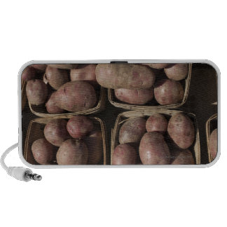 Potatoes at a New Jersey farmer's market Notebook Speakers