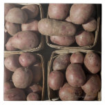 Potatoes at a New Jersey farmer's market Tile