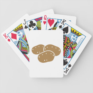 Potatoes Bicycle Playing Cards
