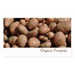 Potatoes business card