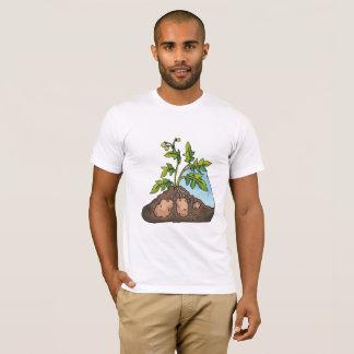 Potatoes Growing Mens T-Shirt