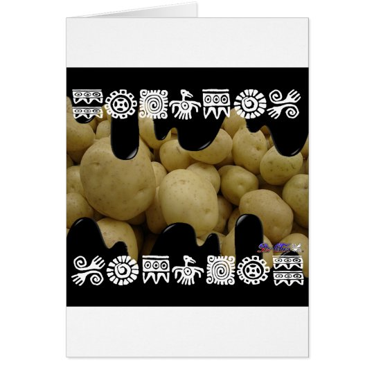POTATOES PRODUCTS CARD