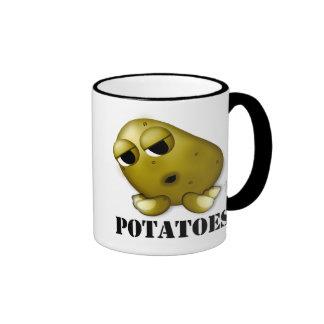 Potatoes Ringer Coffee Mug
