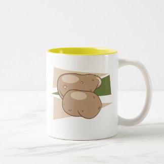 Potatoes Two-Tone Coffee Mug