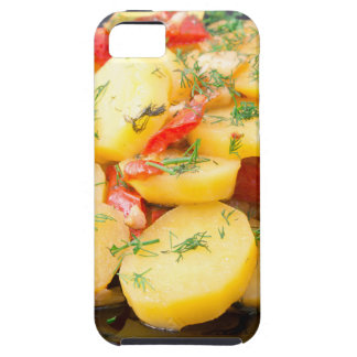 Potatoes with onion, bell pepper and fennel iPhone SE/5/5s case