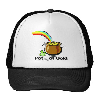 Potbelly of Gold St. Patrick's Day gift Hats