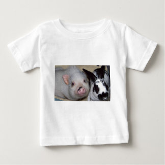 Potbelly Pig & Friend Baby T-Shirt
