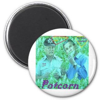 Potcorn Album Merch 2 Inch Round Magnet