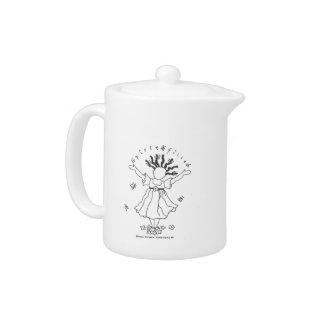 Pote Alcohol-Llenado del té