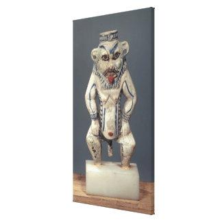 Pote de Kohl representando a dios egipcio Bes del Lona Estirada Galerias