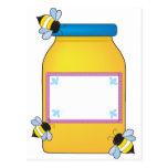 Pote de la miel postal
