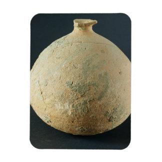 Pote de la terracota, Kalibangan, 2300-1750 A.C. Imán Rectangular