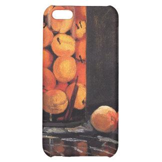 Pote de melocotones de Claude Monet