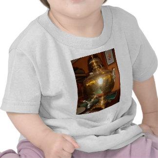 Pote de oro del té camisetas