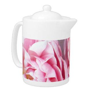 POTE del CAFÉ con los rosas suaves y bonitos