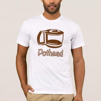 Pote del café del Pothead Playera
