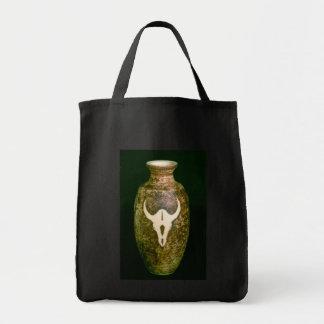Pote del cráneo bolsa tela para la compra