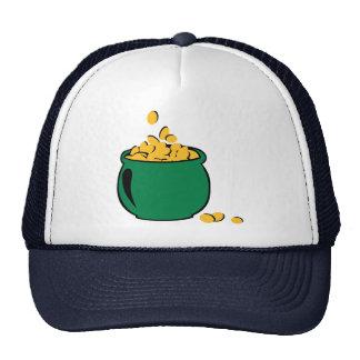 Pote del oro del St. Patricks Gorras De Camionero