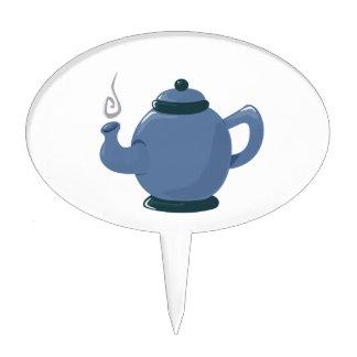 Pote del té figura de tarta