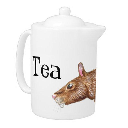 pote del té de la rata