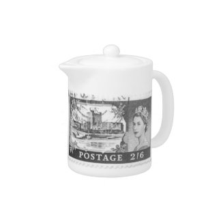 Pote del té de la reina Elizabeth