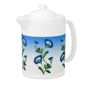 Pote del té de las FLORES
