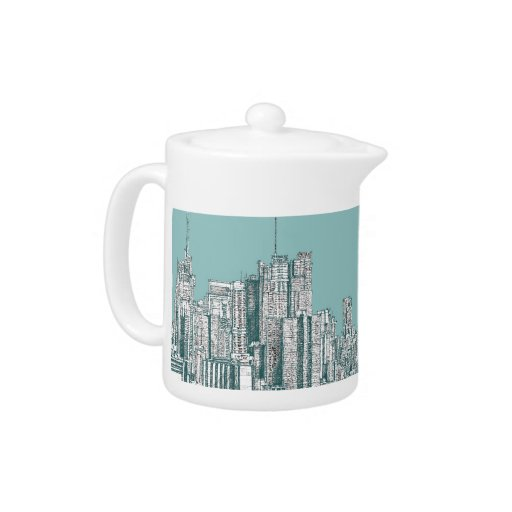Pote del té de Nueva York