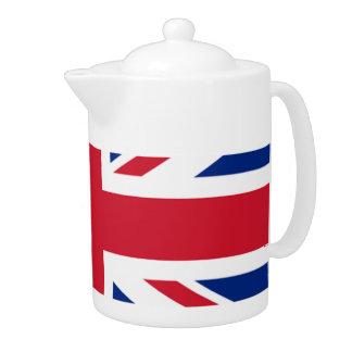 Pote del té de Union Jack