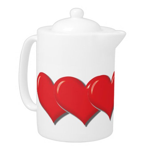 Pote del té del corazón