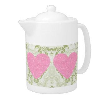 Pote del té el día de San Valentín