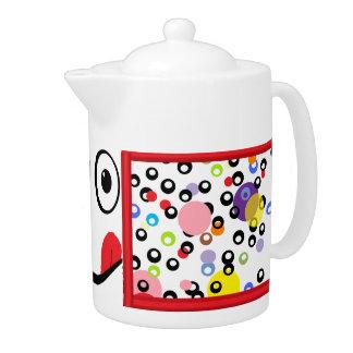 Pote delicioso del té