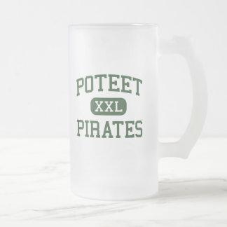 Poteet - piratas - High School secundaria - Mesqui Taza Cristal Mate