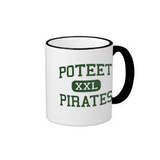 Poteet - piratas - High School secundaria - Mesqui Taza A Dos Colores