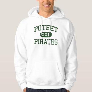 Poteet - Pirates - High School - Mesquite Texas Hoodie