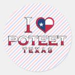 Poteet, Texas Stickers