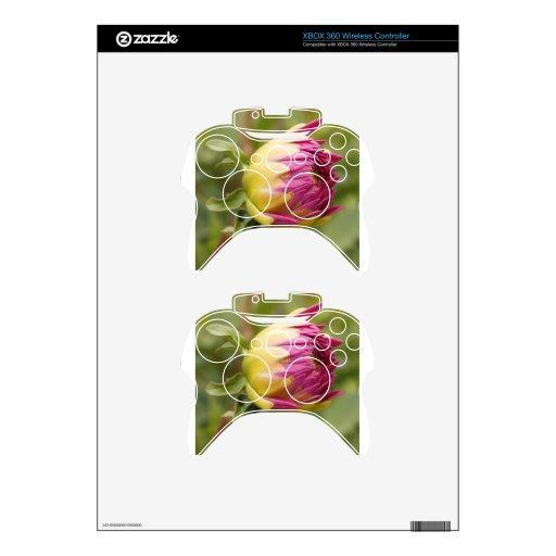 Potencial de la flor mando xbox 360 calcomanía