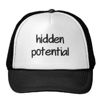 potencial ocultado gorra