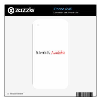 Potencialmente disponible skins para eliPhone 4S