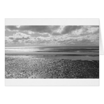 """Beach Themed Potential (Black & White)- (5"""" x 7"""") RBDStore Card"""