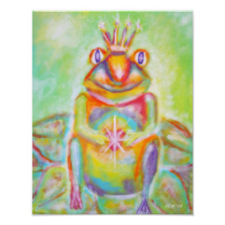 """Potential"" Frog Prince Full Bleed Print"
