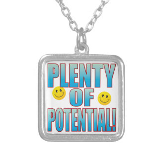 Potential Life B Silver Plated Necklace