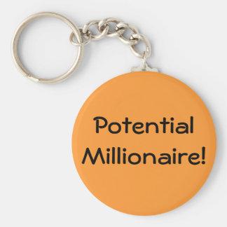Potential Millionaire / Millionairess! Keychain