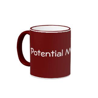 Potential Millionaire / Millionairess! Ringer Coffee Mug
