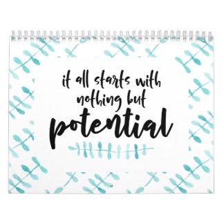 Potential Quote Calendar