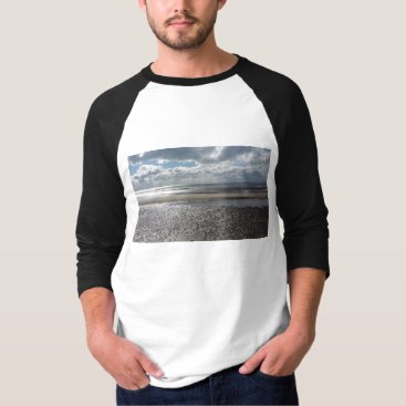 Beach Themed Potential Summer Mens T-Shirt 3/4 Sleeve Sunpyx